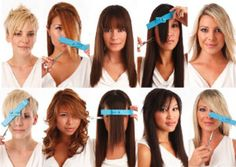 20 Incredible Medium Length Hairstyles With Bangs Medium length hair is perfect for women who don't want short hair but can't handle long hair. Check out these best medium length hairstyles with bangs. Cut Own Hair, Trim Your Own Hair, How To Cut Your Own Hair, Cut Side Bangs, How To Cut Bangs, Hairstyles With Bangs, Diy Hairstyles, Messy Wavy Hair, Hair Cutting Techniques
