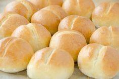 buleczki mini Home Bakery, Bread Bun, Bread Baking, Recipies, Rolls, Food And Drink, Cooking Recipes, Eat, Kitchenaid