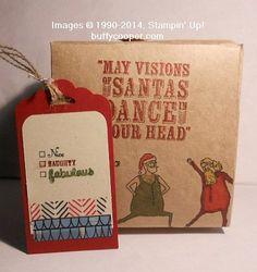 Visions of Santa, Santa & Co, Stampin' Up!