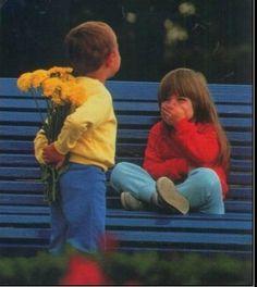 little kid love ♥