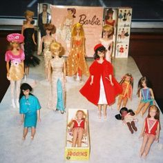 Playing with Barbie Dolls..