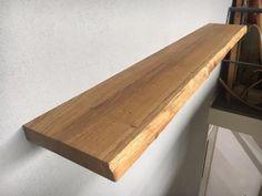≥ Zwevende boomstam wandplank eiken houten hout boekenplank - Woonaccessoires | Wandplanken en Boekenplanken - Marktplaats.nl
