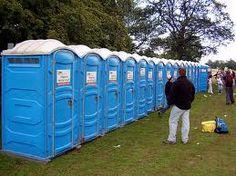 Portaloo. Toilets. Honeypots. At the races. -   www.modestcompany.com
