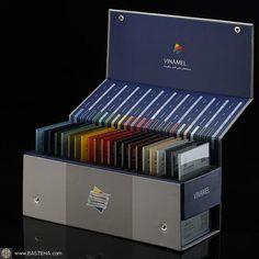 Vinamel_t Toughenable enamelled glass sample box