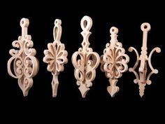 Wooden Christmas Ornaments   Wooden christmas ornaments - Scroll Saw Woodworking & Crafts Photo ...