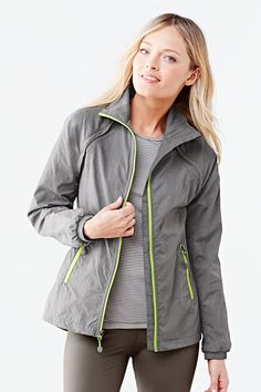 As Seen in O, the Oprah Magazine (March 2015) - Women's Activewear Convertible Jacket