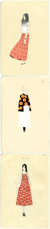 dadu shin - Fashion Illustration is my favorite Art And Illustration, Illustration Inspiration, Illustrations Posters, Arte Fashion, Fashion Design, Art Sketchbook, Oeuvre D'art, Collages, Illustrators