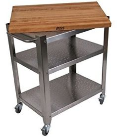 34 Best Stainless Steel Kitchen Rolling Carts images ...