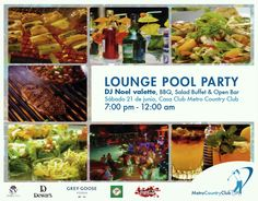 Welcome Summer 2014 #metrocountryclub #loungepoolparty #party #juandolio