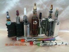 Current vape rotation.  December 2013  Vape On!