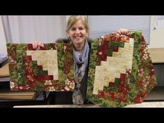 Bargello Table Runner | Quick and Easy Method in a Step by Step Tutorial - YouTube