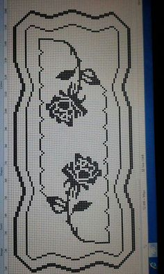 Cross Stitch Embroidery, Cross Stitch Patterns, Crochet Patterns, Filet Crochet Charts, Crochet Tablecloth, Bargello, Doilies, Smocking, Diy And Crafts