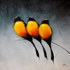 Bird Series painting by Harold Braul at Crescent Hill Gallery Drawn Art, Arte Pop, Animal Paintings, Bird Paintings, Bird Drawings, Bird Art, Beautiful Birds, Rock Art, Painting Inspiration