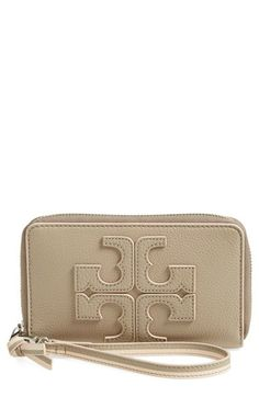 Tory Burch Logo Phone Wristlet available at #Nordstrom