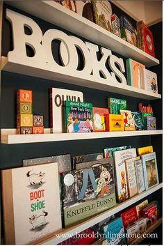 playroom bookcase