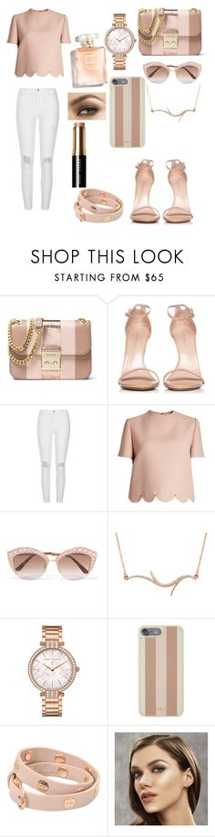 """""""Untitled #677"""" by martialartsqueen ❤ liked on Polyvore featuring MICHAEL Michael Kors, Stuart Weitzman, River Island, Valentino, Gucci, Harry Winston, Michael Kors, Tory Burch and Bobbi Brown Cosmetics"""