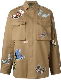 Valentino stitched butterfly jacket on shopstyle.com