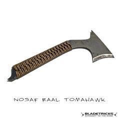 Bladetricks Subcompact Nosaf Raal Tomahawk everyday carry fighting tomahawk #tactical combat #eskrima