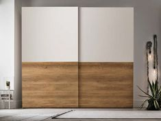 Sectional wardrobe with sliding doors DOUBLE By Gruppo Tomasella Master Bedroom Wardrobe Designs, Sliding Door Wardrobe Designs, Wardrobe Room, Wooden Wardrobe, Wardrobe Furniture, Bedroom Closet Design, Bedroom Furniture Design, Wardrobe Laminate Design, Drawing Room Design