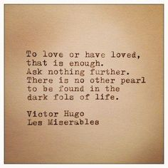 Quote from Les Miserables