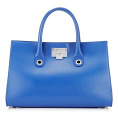 Aegean Smooth Leather and Suede Tote Bag