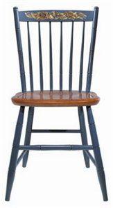 SALE Four Hitchcock Chairs Circa 18601870 By Lavintagefurnishings