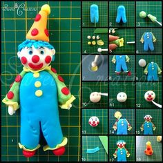 Clown Picture Tutorial