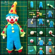 Clown Picture Tutorial