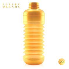 Luxury Dreams · Metalizada  |  #Botella #plegable #Squeasy de polipropileno sin bisfenol A (BPA)  /  100% #reciclable.  /  Capacidad de 0.3 a 0.7 litros.  /  Apta para uso alimentario.  /  Apta para lavavajillas. Suave aroma  a vainilla (para evitar el olor a plástico, no afecta al contenido de la botella)  /  #Diseño Suizo.