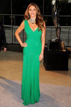 Sofia Vergara in Herve L. Leroux, CFDA Awards 2013, New York