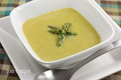 Cream of Asparagus Soup | Skinnytaste