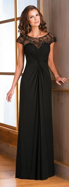 Pretty bridesmaid dress - a different color but a beautiful dress for bridesmaids