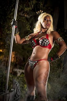 Fooly Cooly as The Amazon from Dragon's Crown #cosplay