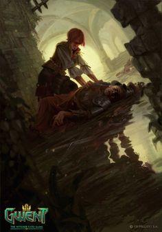 """from """"Heart of Stone"""", """"The Witcher, Wild Hunt"""" (polish game - """"Wiedźmin, Dziki Gon"""", """"Serce z Kamienia"""") The Witcher Books, The Witcher 3, Medieval Fantasy, Dark Fantasy, Dark Souls, Game Art, Witcher Art, Fantasy Kunst, Wow Art"""