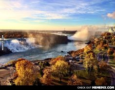 Niagara Falls This Morning -