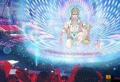 Hanuman appears at the 2012 London Olympics opening ceremony