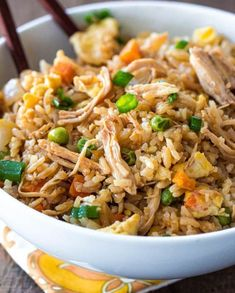 Better Than Takeout Chicken Fried Rice - I meán reálly. Who doesn't like fried rice?
