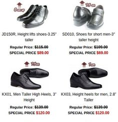 f8918723699 Shop for tall men shoes   high heel shoes that make you taller undetectable  comfy height increasing selection.