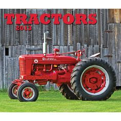 Tractors Wall Calendar: The year 2013 unfolds with a gallery of stunning full-color images of classic tractors—John Deere, Allis-Chalmers, and Farmall among them—accompanied by informative captions, in this handsome wall calendar.  http://www.calendars.com/Tractors/Tractors-2013-Wall-Calendar/prod201300002777/?categoryId=cat00695=cat00695#