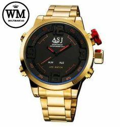 6f1396b8534 Relógio Militar Led de Luxo GREE Pedidos direto pelo site   wmmultimarcas.com.br