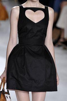 luella close-up heart cut-out dress