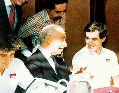 Senna, Fangio y Prost
