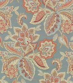 Upholstery Fabric- Waverly Treasure Trove/Federal, , hi-res