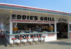 Eddie Sezon opened Eddie's Grill in 1950 when he was a teenager.  You'll still find him there behind the grill today!  Worth a visit!  Right on Lake Erie in historic GOTL Ohio