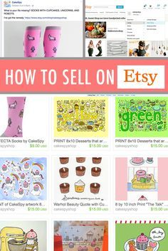 Pricing & how to sell on etsy