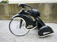 vintage harley tricycle
