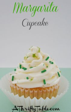 Spiked Margarita Cupcakes Recipe