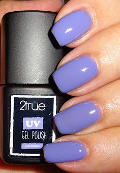 Wendy's Delights: 2True UV Gel Polish - Lavender @2trueuk #2True #UVGelnails #lilacnails