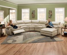 Round Sectional Sofa Soft wheat toned leather wraps this thick cushioned sectional, a lengthy piece incorporating both a . Leather Sofa Living Room, Round Couch, Round Sectional, Couch Design, Home, Sectional Sofa Couch, Curved Sofa, Round Sofa, Curved Sectional