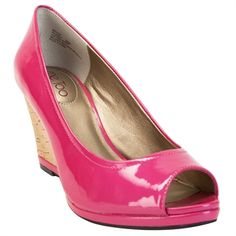 Me Too Yacena 2 Open Toe Cork Wedge #VonMaur #MeToo #Pink #OpenToe #Pump #Cork #StyleCorner